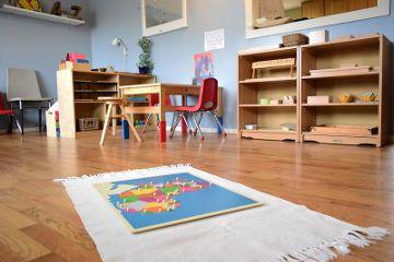 "Montessori preschool classroom. ""Preschool classroom"" by montessori toolkit is licensed under CC BY 2.0"